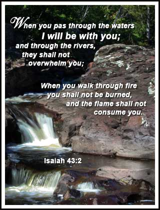 I Will Be With You - Isaiah 43:2