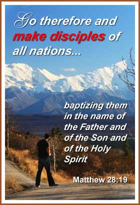 We are all commanded to help make disciples. | Word Blessings | make disciples