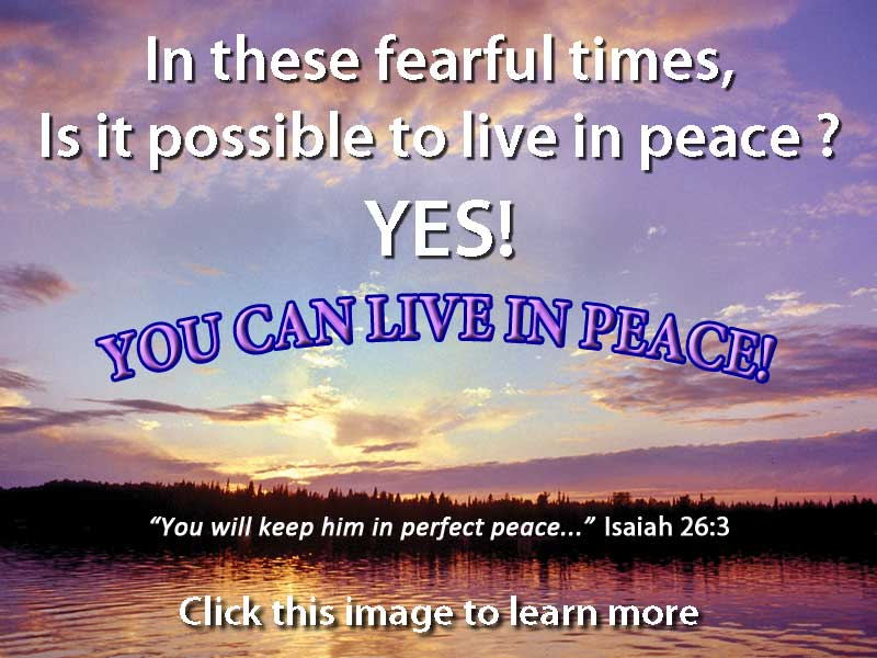 You Can Live Free From Fear You Can Says You Can